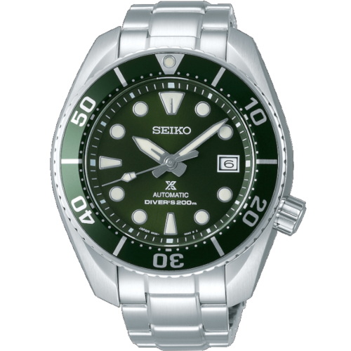 A seiko SPB103J1 sumo quadrante verde vetro zaffiro
