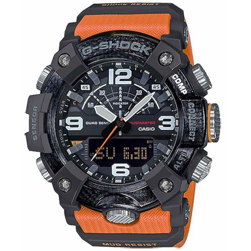 casio GG-B100-1A9ER new Mudmaster arancione altimetro barometro termometro bussola