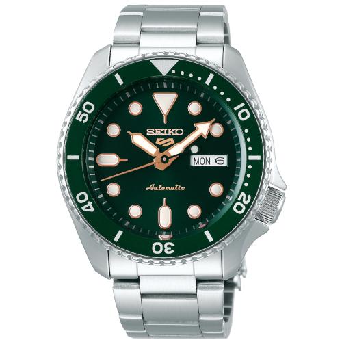 negozio online a56aa cd85b Orologio – Seiko 5 Sports Style SRPD63K1 British Green Automatico - Watch  You Want
