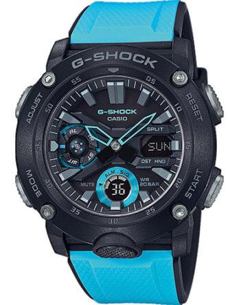 casio G-Shock GA-2000-1A2ER celeste