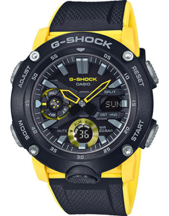 casio G-Shock GA-2000-1A9ER giallo