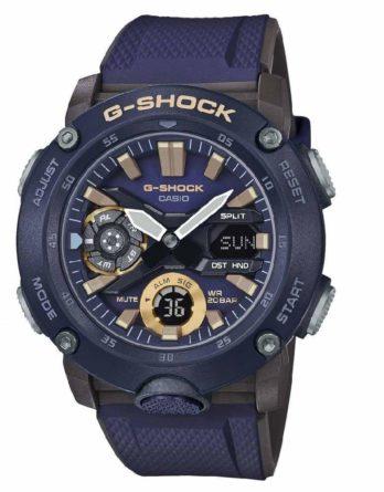 casio G-Shock GA-2000-2AER blu