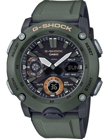 casio G-Shock GA-2000-3AER verde militare