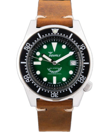 a squale 1521 green special 500