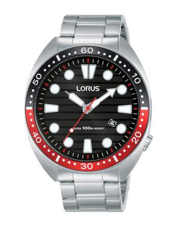 Orologio – Lorus Turtle Nero RH923LX9