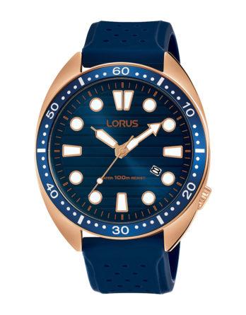 Orologio - Lorus Turtle blu silicone RH926LX9