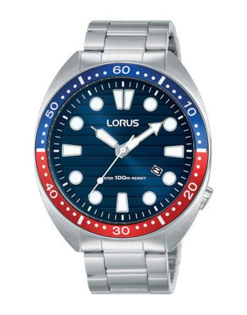 Orologio Lorus acciaio quadrante blu RH925LX9-s1
