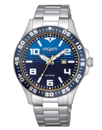 Orologio - Vagary by Citizen Aqua39 Blu Acciaio IH3-110-71