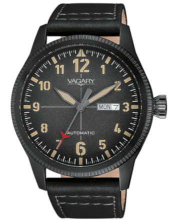 Orologio Vagary by Citizen G.Matic 101 FlyBoy Automatico  Nero IX3-149-60