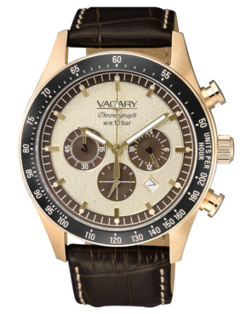 Orologio - Vagary by Citizen Rockwell Crono Marrone IV4-098-90