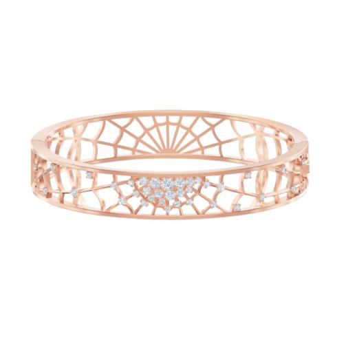 bracciale-rigido-precisely--bianco--placcato-oro-rosa-swarovski-5496491