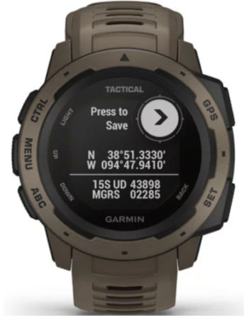 garmin Instinct tactical ediiton coyote tan 010-02064-71 a