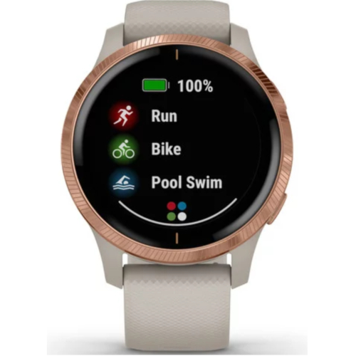 garmin Venu Light Sand Rose Gold 010-02173-22