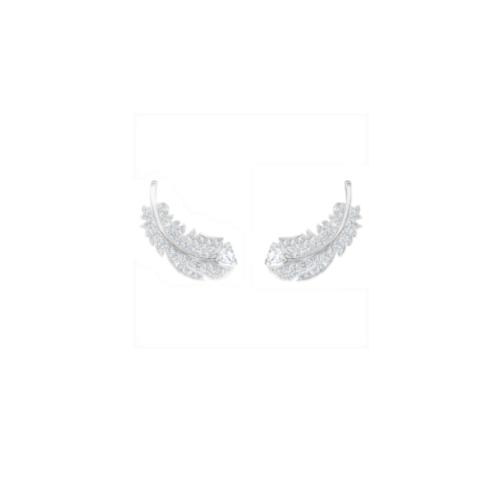 orecchini-stud-nice--bianco--placcatura-rodio-swarovski-5482912