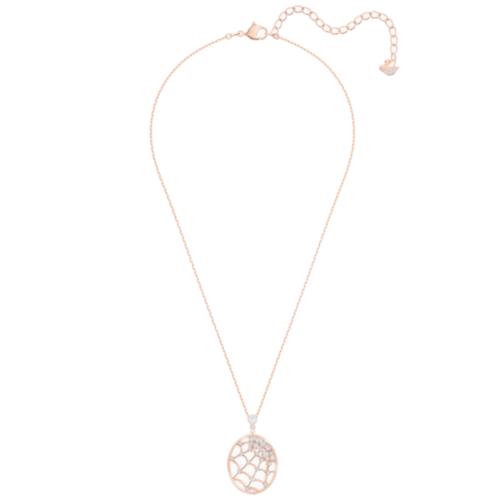 pendente-precisely--bianco--placcato-oro-rosa-swarovski-5488405