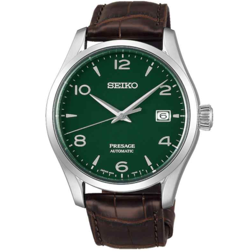 a seiko SPB111J1 Presage limited Edition enamel quadrante smalto verde
