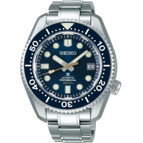 seiko SLA023J1 Marine Master 300 mt quadrante blu cassa monoblocco automatico movimento Seiko 8L35 finitura Zaratsu a