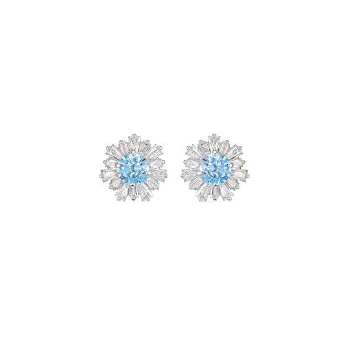 Orecchini- Swarovski Sunshine azzurro 5536741