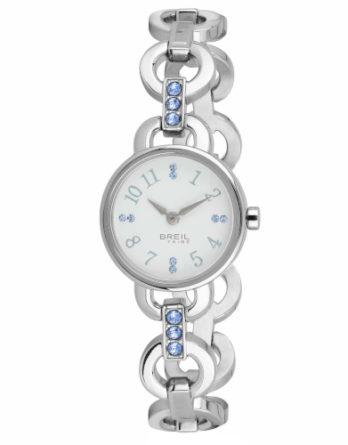 Orologio – Breil Donna Agata Bianco Cristalli Azzurri EW0381