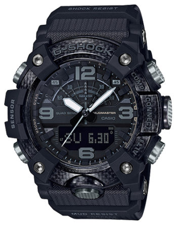 casio g-shock GG-B100-1BER mudmaster blackout