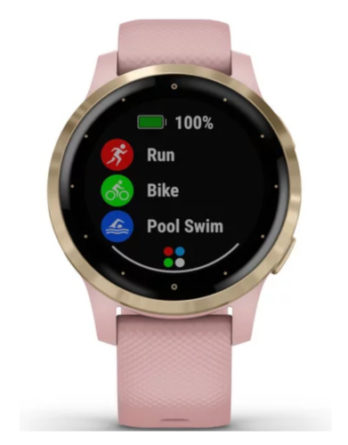 garmin Vivoactive 4S Dust Rose Light Gold 010-02172-32