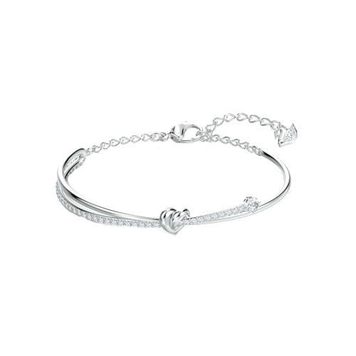 Bracciale - Swarovski Infinity Bianco Rodio 5517944_1