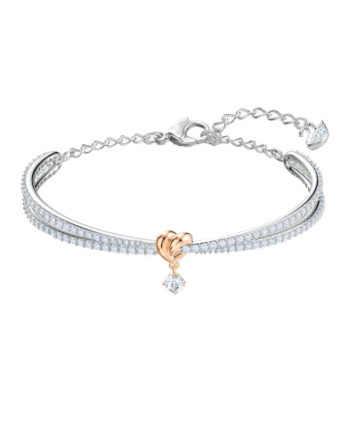 Bracciale – Swarovski Rigido Lifelong Heart Bianco Mix Rodio 5516544_1