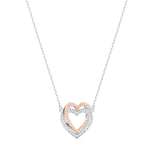 Collana - Swarovski Infinity Heart Bianco Mix 5518868_2