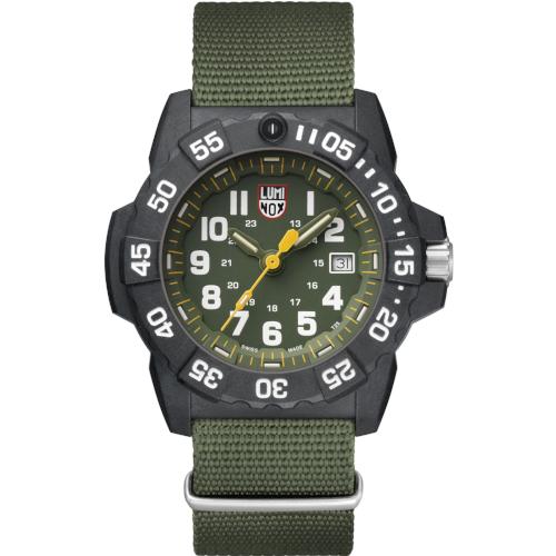 Orologio Luminox Navy Seals XS 3517 Nato Verde Carbonox Watch You Want