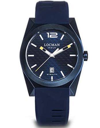 Locman new stealth 0810B02S-BLBLWHSB PVD blu b