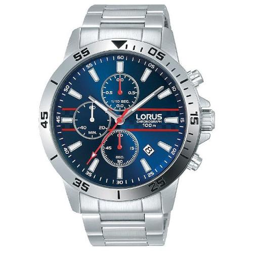 Orologio - Lorus Cronografo Uomo Sports RM309FX9 Blu Scuro