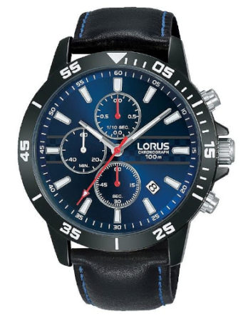 Orologio – Lorus Cronografo Uomo Sports RM311FX9 Blu