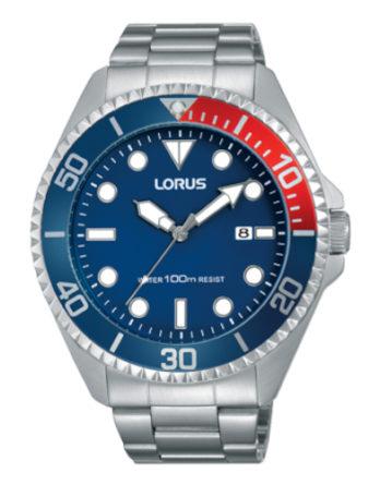 Orologio – Lorus Uomo Sports RH941GX9 Rosso Blu