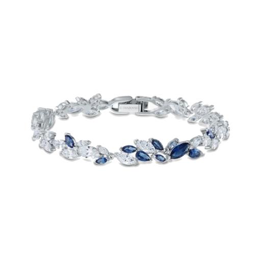 bracciale swarovski Louison 5536548 azzurro