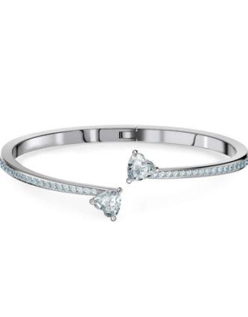 bracciale swarovski attract soul heart 5518814 bianco
