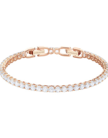 bracciale swarovski tennis deluxe 5464948 rose gold