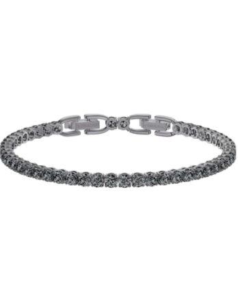 bracciale swarovski tennis deluxe 5514655 grigio