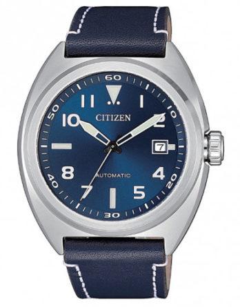 orologio Citizen Eco Drive crono collezione OF Urban CA0741-89L qudrante blu bracciale acciaio