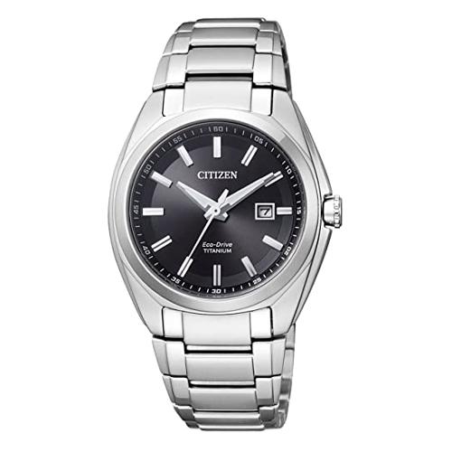 orologio Citizen Supertitanio donna EW2210-53E quadrante nero bracciale supertitanio