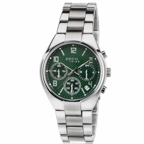 Orologio Breil Tribe cronografo unisex EW0306 quadrante verde