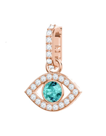 Charm – Swarovski Remix collection Evil Eye 5434401 Verde Oro Rosa 3