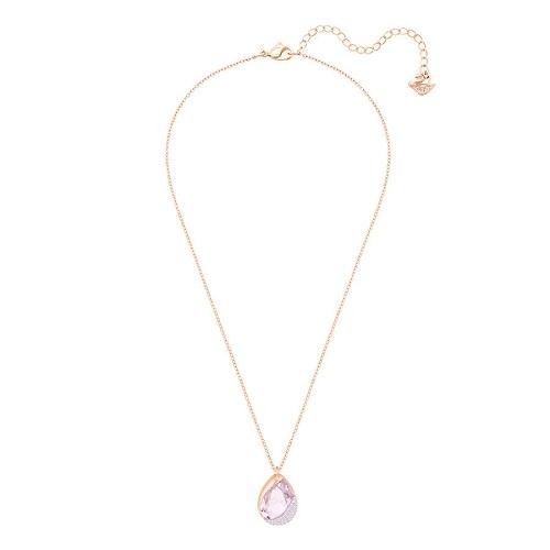 Collana - Swarovski Donna Heap Pear 5351133 Rosa Oro Rosa 2