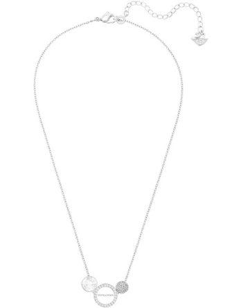 Collana - Swarovski Donna Hote Versatile 5300330 Grigio Rodio 1