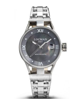 Locman Montecristo donna quadrante madreperla bracciale acciaio 0521V01-00MK00B0