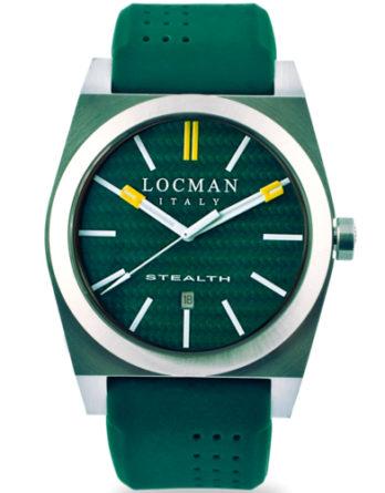 Locman Stealth 43 mm verde 020100KGFYL1GOG a