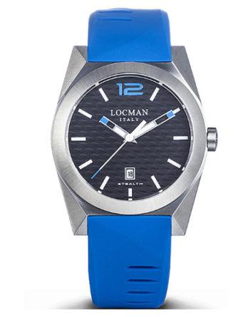 Locman new stealth 0810A01S-00BKSKSS celeste a
