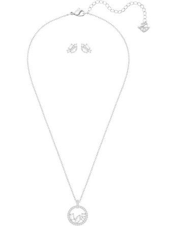 Set - Swarovski collana orecchini donna gioielli Henrietta 5368072_4