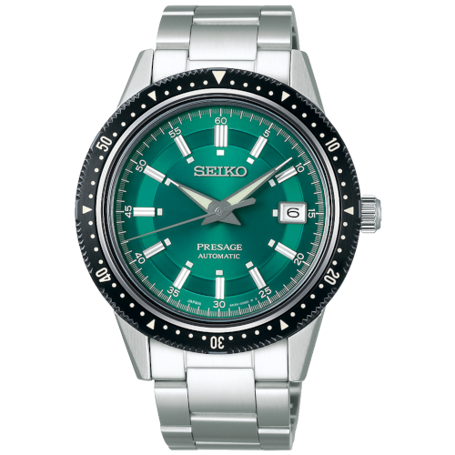 a seiko Presage SPB127J9 crown Limited Edition verde 1