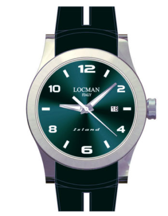 locman island verde petrolio 0613A19S-00PTWHSL