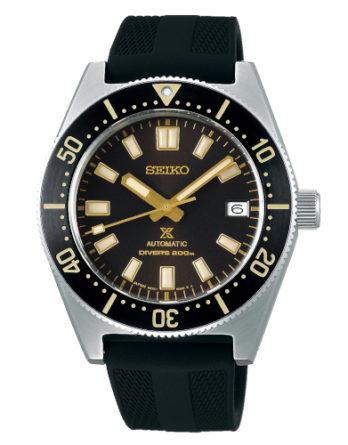 Orologio – Seiko Uomo Prospex 55th Anniversary Automatico SPB147J1 Nero Silicone